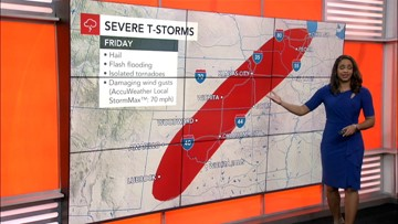 Will storms impact your Memorial Day weekend plans?