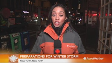 New York City prepares for incoming winter snow