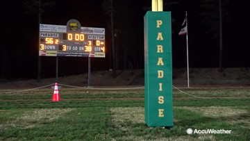 A memorable season continues for a football program that is putting its community on its back
