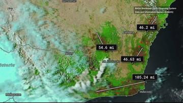 NASA Satellite Captures Australia's Burn Scars from Devastating Fires
