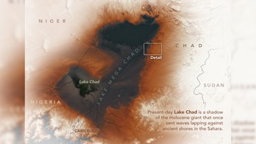 NASA Captures Remnants of 'Mega Chad,' an Ancient Lake in the Sahara Desert