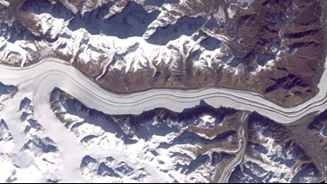 Dramatic Changes in Earth's Glaciers Seen in 48 Years of Satellite Footage