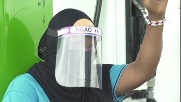 Recycling Plant Turns Plastic Bottles into COVID-19 Face Shields