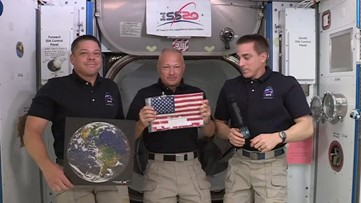 SpaceX Captures Flag From Space Station in Nine-Year-Old Competition