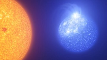 Small, Hot Stars Fire Superflares Ten Million Times More Energetic Than Our Sun