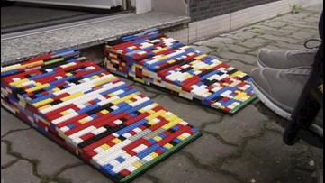 Ramping Up! German Woman Dubbed 'Lego Grandma' Makes Wheelchair Ramps Out Of Legos!