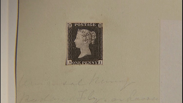 This Is the World's First Ever Postage Stamp Set To Be Auctioned off for Millions