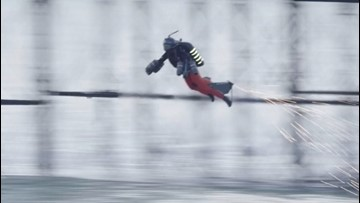 Watch the Moment This Futuristic Jet Suit Breaks the World Speed Record