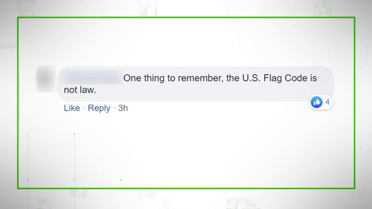 VERIFY: Flag Code Comment