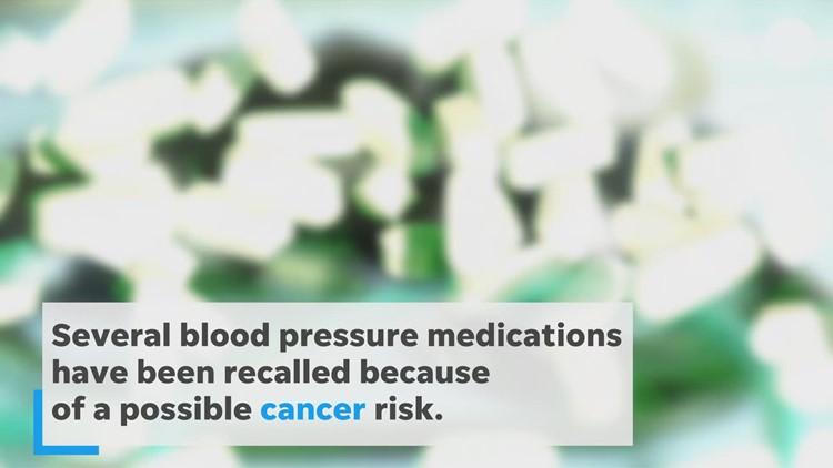 More blood pressure pills recalled for cancer concerns