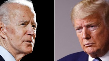 Battleground map takes shape for Trump, Biden in 2020