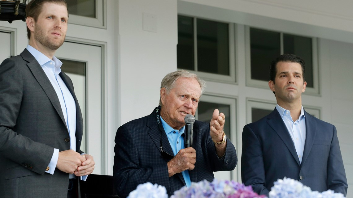 'More diverse than any president I have seen.': Jack Nicklaus votes for Trump