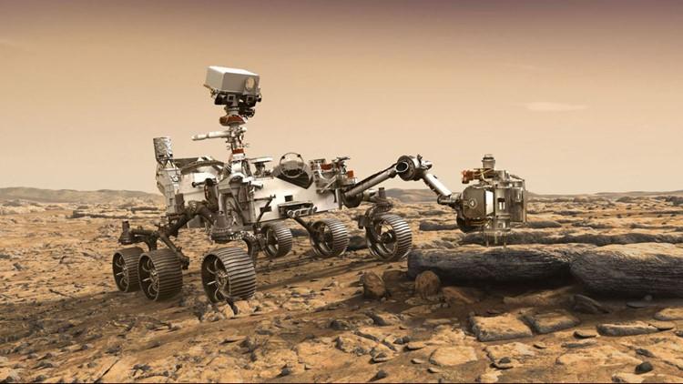 NASA Mars 2020 JPL