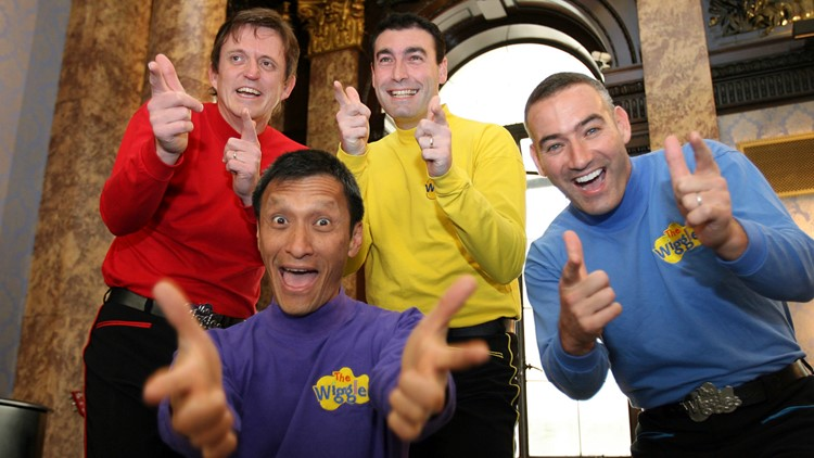 Australia Wiggles original group 2006 AP
