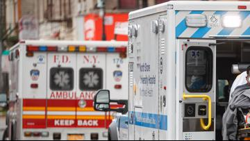 New York has biggest 1-day jump in virus deaths