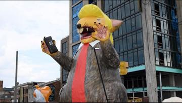 Trump mocks Democrats, vows new tax cut in trip to Baltimore