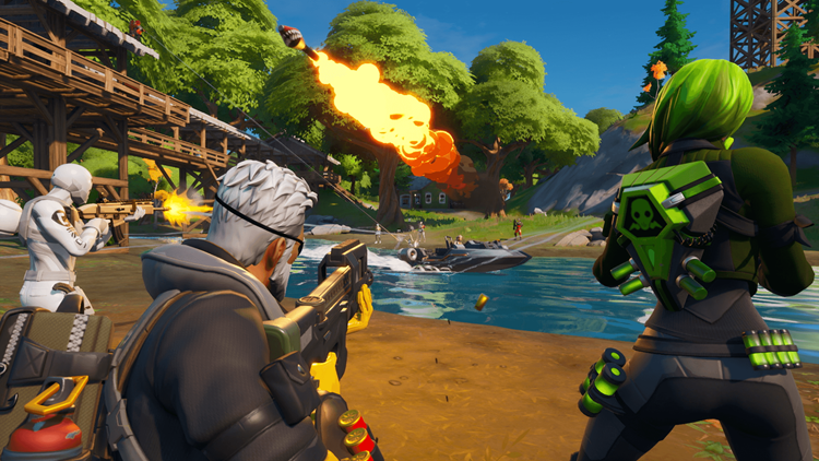 Fortnite returns with Chapter 2 and a new map