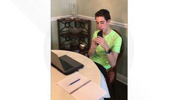 This 16-year-old spends weekends teaching seniors to use the internet. Now, his work is more important than ever.