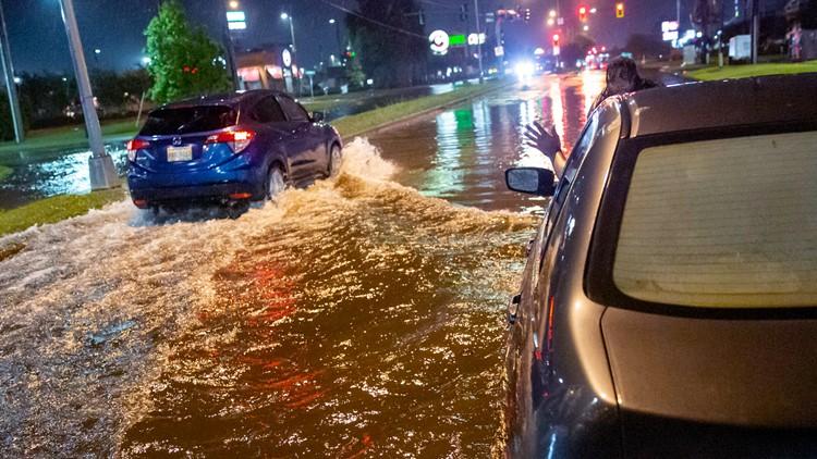 Claudette brings damage, flooding to Gulf Coast states