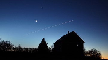 Jupiter, Mars, Saturn and the moon to line up in pre-dawn sky this week