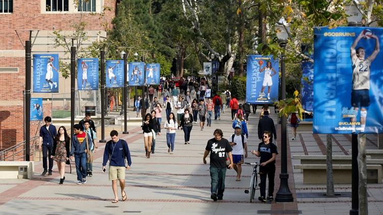 College Admissions Bribery UCLA campus