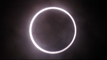 The last solar eclipse of the decade will create a 'ring of fire' on Christmas