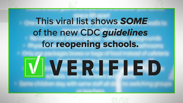 VERIFY: Viral post on 'new CDC guidelines' oversimplifies real information