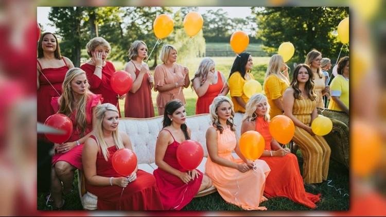 Ashley Sargent Photography rainbow babies shoot