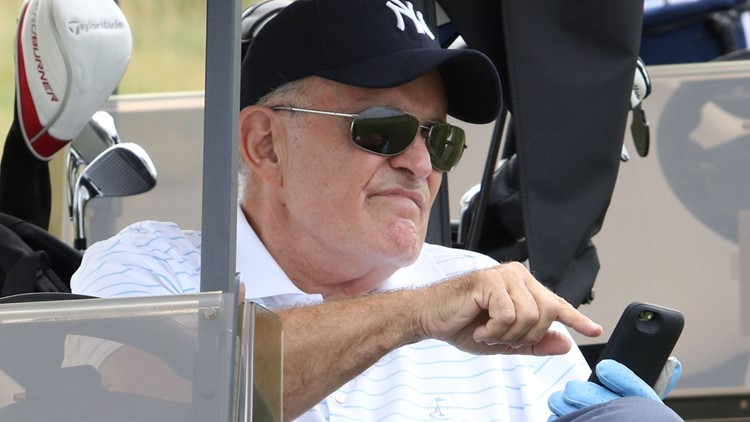 Hank's Yanks 1st Annual Golf Classic Rudy Giuliani