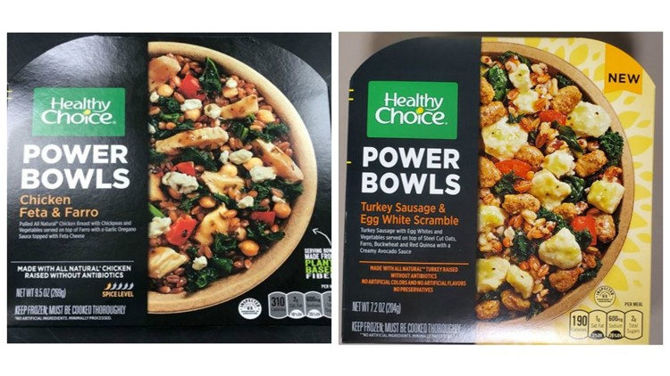 Conagra foods healthy choice bowls recall