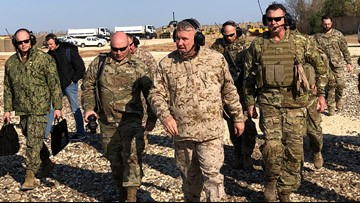 General says US committed to Syria fight; Missions up against Islamic State