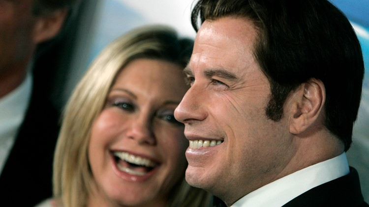 Olivia Newton-John and John Travolta 2008