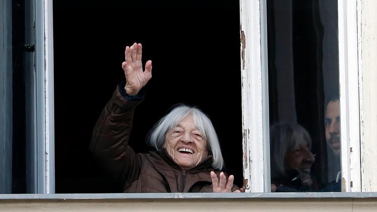 Agnes Keleti the Hungary Oldest Olympic Champion AP