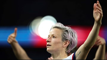 Megan Rapinoe named FIFA player of the year