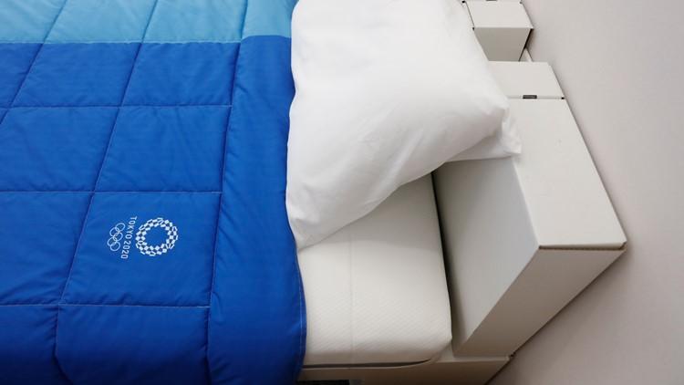 Olympics Tokyo Cardboard Beds