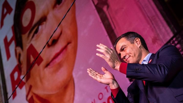 APTOPIX Spain Elections
