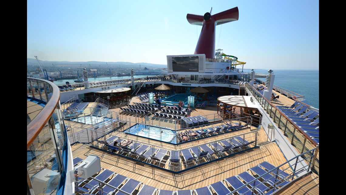 Technical issue causes Carnival Cruises ship to lean, leading to