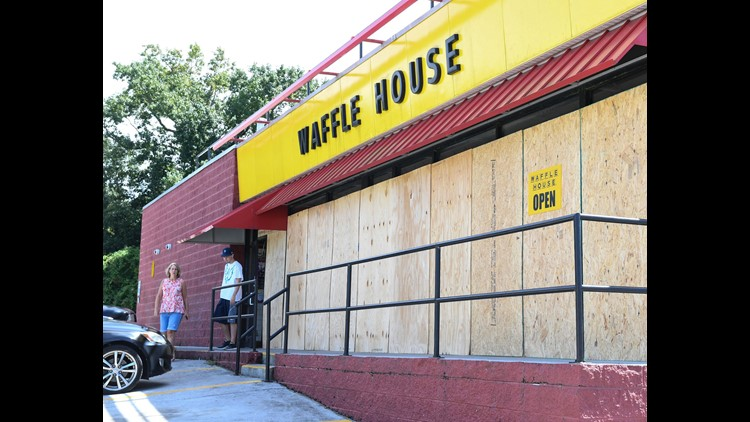Waffle Houses in Florence's Path Have Begun to Close