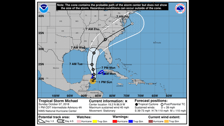 STORM WATCH: TD 14 headed for northern Gulf Coast as potential hurricane