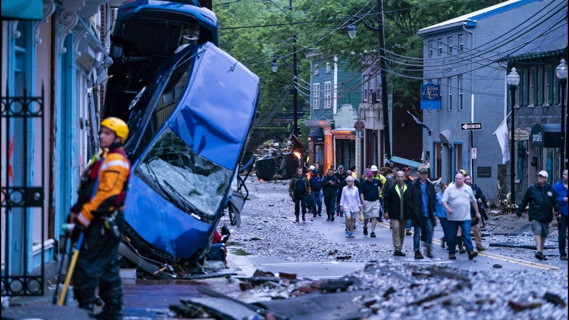 No Words To Describe The Devastation After Ellicott City Flooding In Maryland Wltx Com
