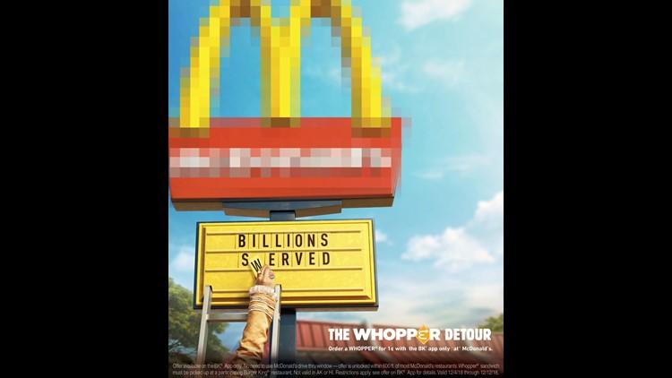 Burger King detour