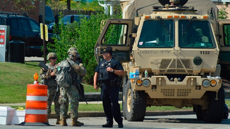 Wisconsin National Guard ends mobilization in Kenosha after Jacob Blake charging decision