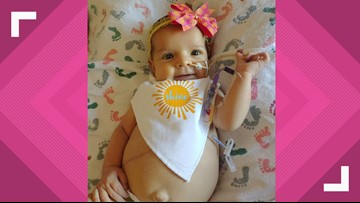 Miracle for Marlee: 4-month-old with rare liver disease awaits transplant, family says