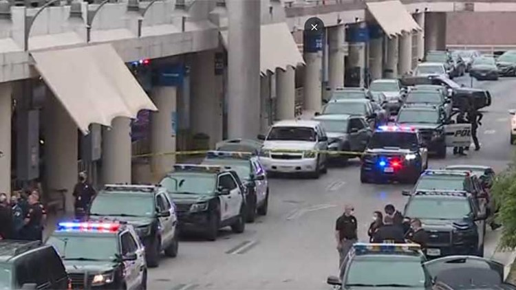 'We were very lucky today': Gunman dead after attack at San Antonio Airport, authorities say