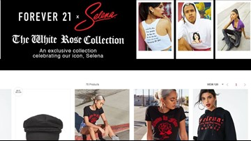 Forever 21 launches exclusive collection honoring Selena