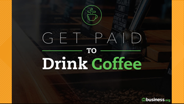 How you can get paid to drink coffee