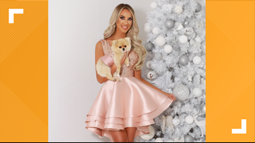 'Get matchy-matchy with your fur baby' | Retailer creates sparkling dress for you and your pet