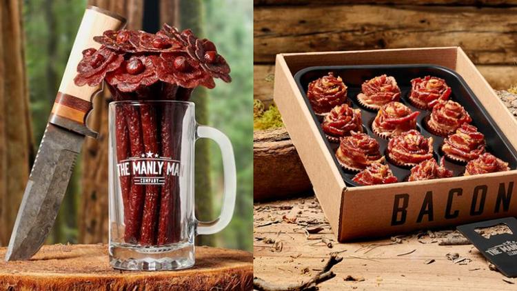 Forget the roses | Company makes beef jerky flowers