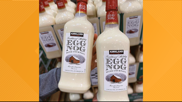 Costco selling Egg Nog Wine Cocktail