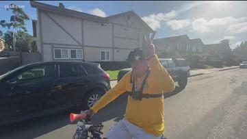 83-year-old California cyclist reaches mileage milestone